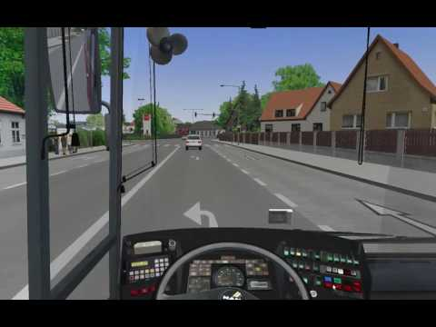 Omsi 2 MAPS:VIENNA. LINE:23A. Bus simulator.