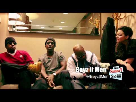 Sunday Show TV - Boyz II Men Interview   @BoyzIIMen Live at Proud2 - 5th Feb