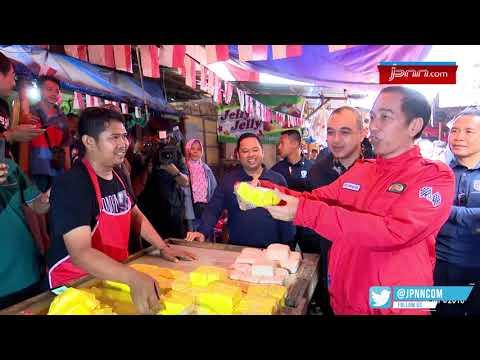 Naik Motor, Presiden Jokowi Blusukan ke Pasar Anyar di Tangerang Mp3
