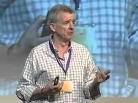Michael O'Leary at the Innovation Convention 2011 - Brussels