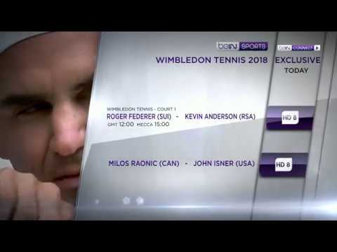 Wimbledon 2018, Quarter-finals Exclusive on beIN SPORTS