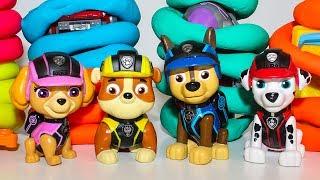Мультики Щенячий патруль новые серии Mission PAW Развивающие мультики про машинки для детей Play Doh