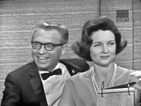 What's My Line? - Vonda Kay Van Dyke; Betty White & Allen Ludden (Sep 5, 1965)
