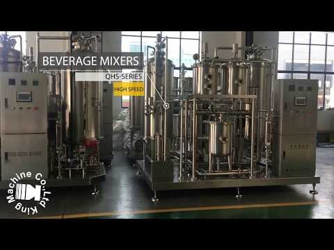 CSD Carbonated Soft Drink Beverage Co2 Mixing Machine