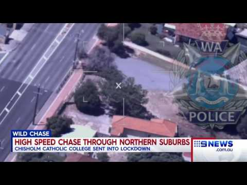 Police Chase | 9 News Perth