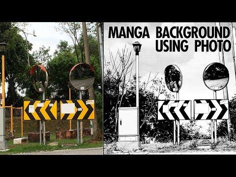 Creating Manga Background From Photo
