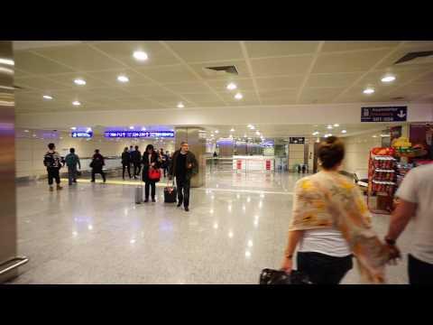 Turkey, Istanbul Atatürk Airport, walking to gate 228A