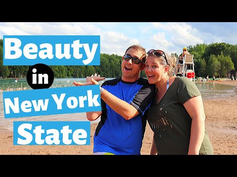 Green Lakes State Park NY//Thing To Do In New York State