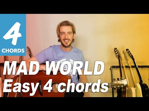 Mad World Guitar lesson tutorial - Tears...