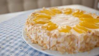 Как приготовить вкусный и легкий торт. Yaş pasta.