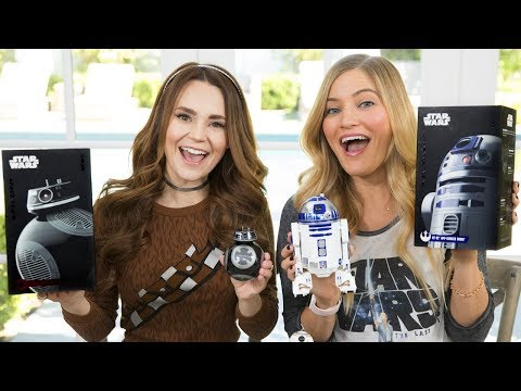 NEW Star Wars Sphero Droids unboxing!