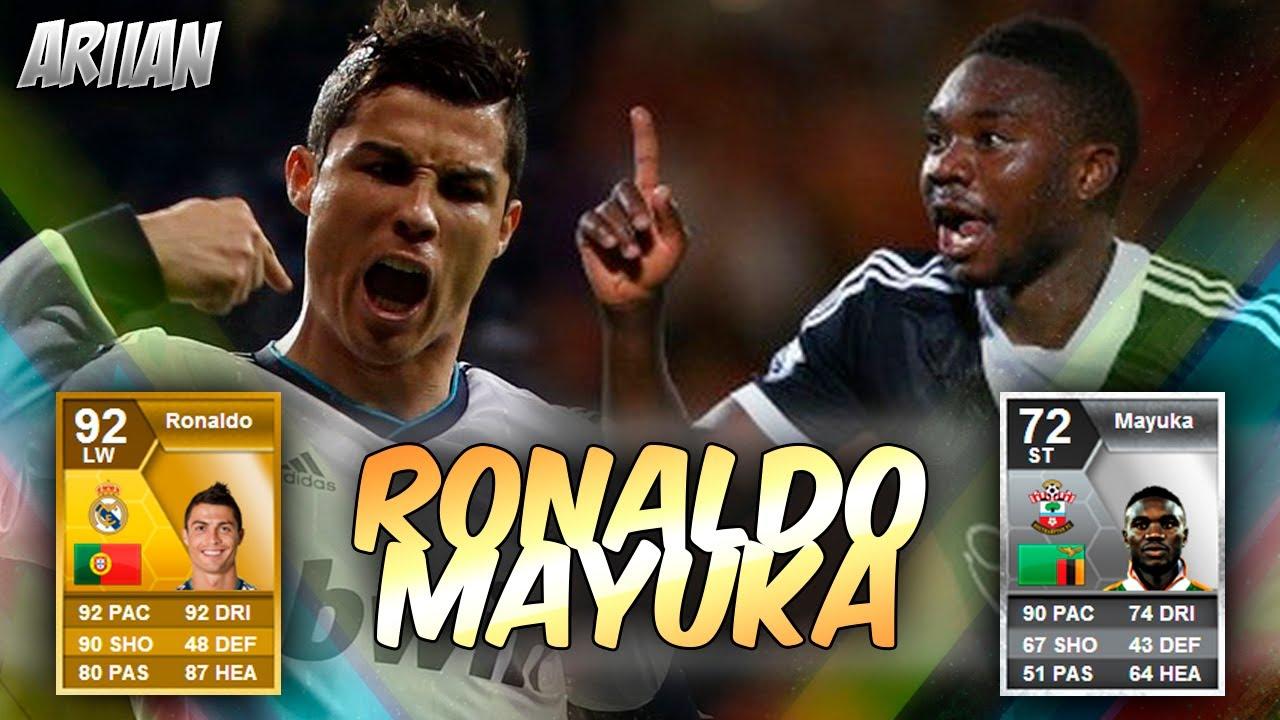FIFA 13 Cristiano Ronaldo Vs Mayuka El Duelo