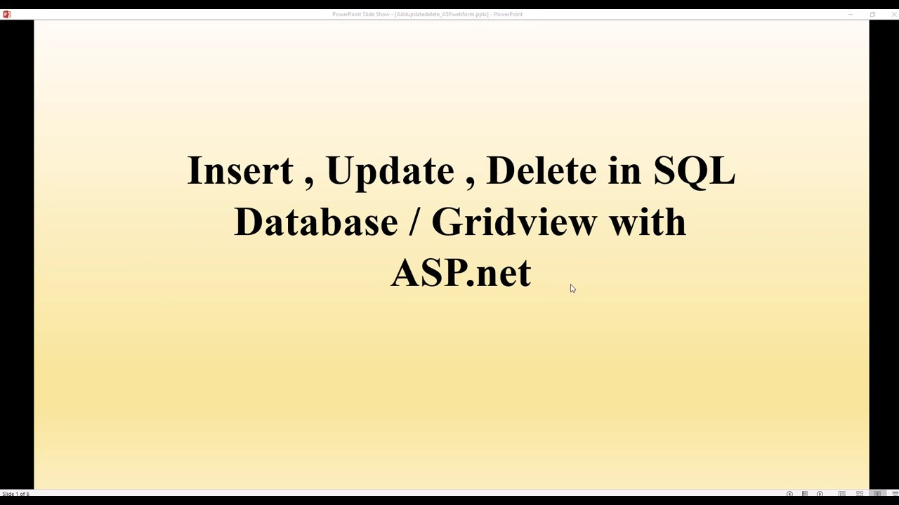 C# ASP NET gridview - Insert Update Delete Clear with SQL database