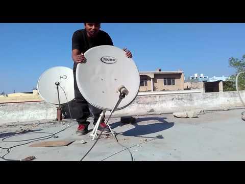 How To Use Analog Satellite dB Meter (Sat Finder) to set a DISH Antenna