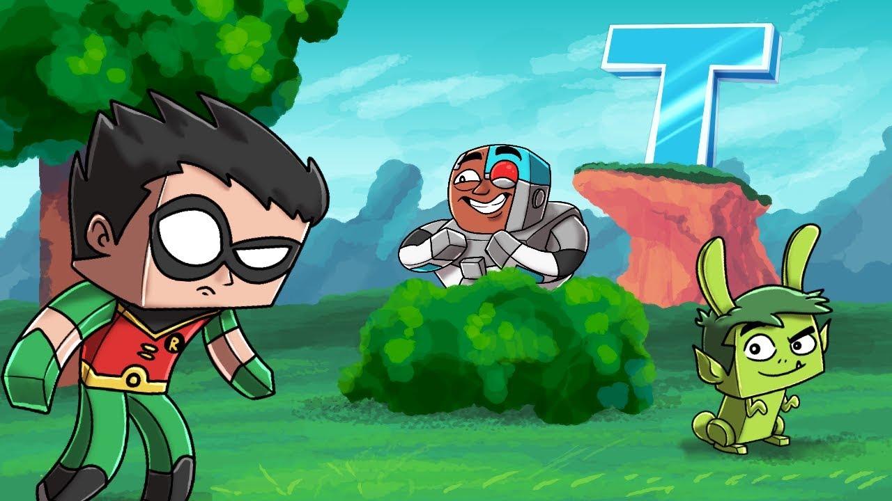 Minecraft - Teen Titans Hide And Seek Teen Titans Go Mod -7525