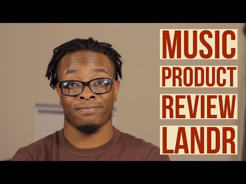 LANDR   Music Product Review