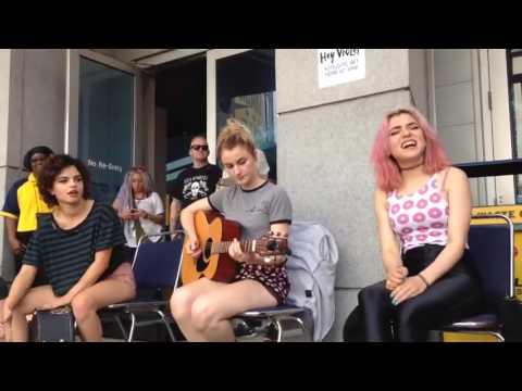 "Hey Violet singing ""All We Ever Wanted"" HV Unplugged in Nashville"
