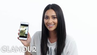 Shay Mitchell Shows Us the Last Thing on Her Phone | Glamour
