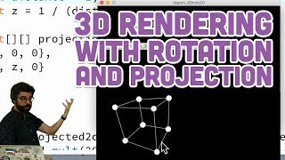 Coding Challenge #112: 3D Rendering with Rotation and Projection