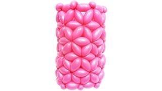 Плетение рукава № 2 из воздушных шаров (ШДМ)