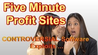 Five Minute Profit Sites Review - WATCH First, thank me later