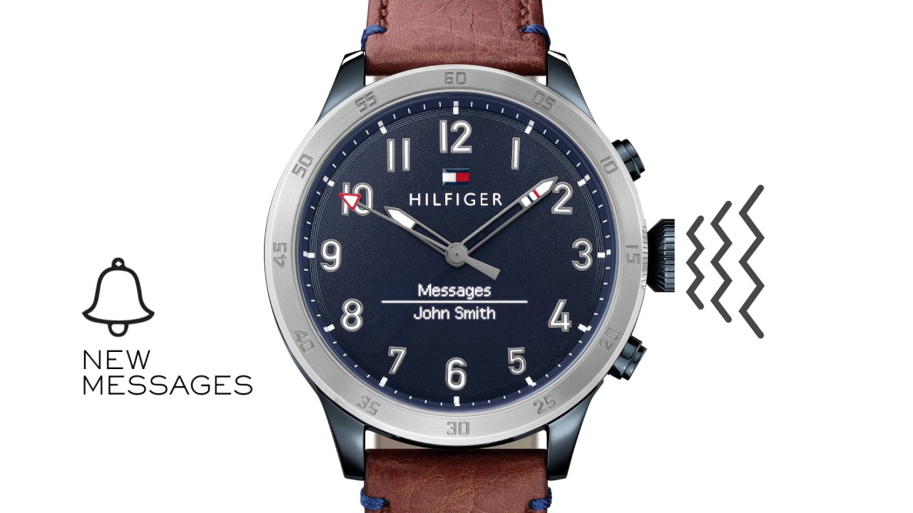 tommy hilfiger th smartwatch youtube