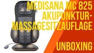 MEDISANA MC 825 Akupunktur-Massagesitzauflage - UNBOXING