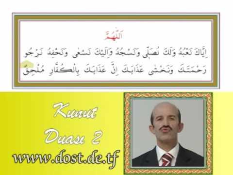 Kunut duaları ezberle Herkes için - Allahümme inna nesteinüke Kunut 1 duası ezberleme