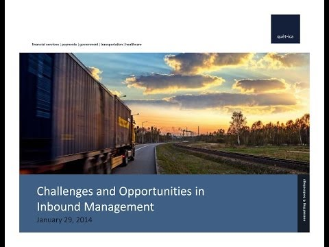 Challenges and Opportunities in Inbound Transportation Management
