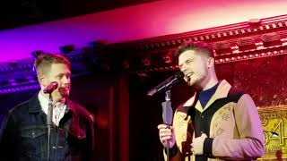 Andy Mientus and Michael Arden - A Case of You - 54 Below