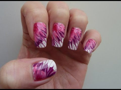 valentine's day inspired nail art tutorial using simple