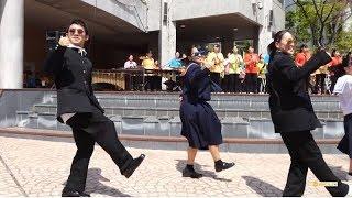 浜名高校 吹奏楽部「ダンス曲メドレー 男の勲章 / ドラえもん / U.S.A.」