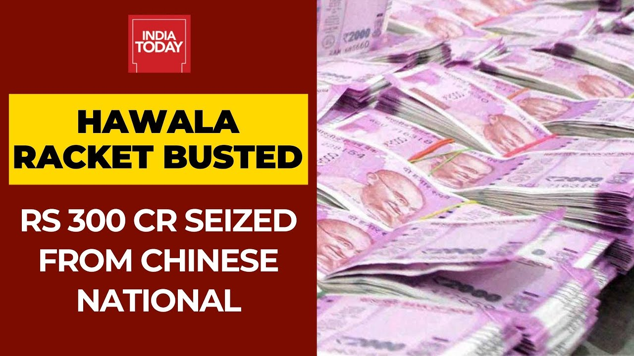Chinese Hawala Racket Busted In Delhi, I-T Dept Seizes Rs 300 crore From Chinese National