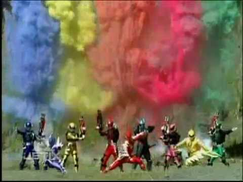 Power Rangers: S.P.D. - History - S.P.D. and Dino Thunder Teamup Morph