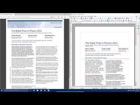 Convert PDF file to Microsoft Word Document Tutorial