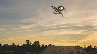 Raw Slopestyle MTB Session from Carson Storch on Homemade Track | Sound of Shred