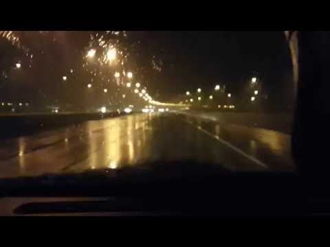wet snow - driving in beaumont