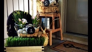 My Outdoor Spring Easter Decor Tour Idea Diy