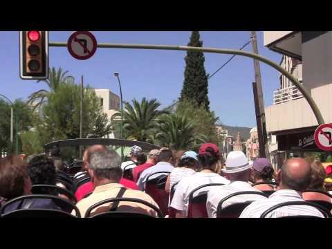 Views from an open top bus of Palma de Mallorca - 7th August, 2010