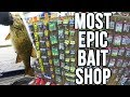 This BAIT SHOP will make you DROOL!
