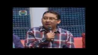"Fadli Zon : Kenduri Jakarta ""Hitung Cepat Pilkada DKI 2012"" (indosiar)"