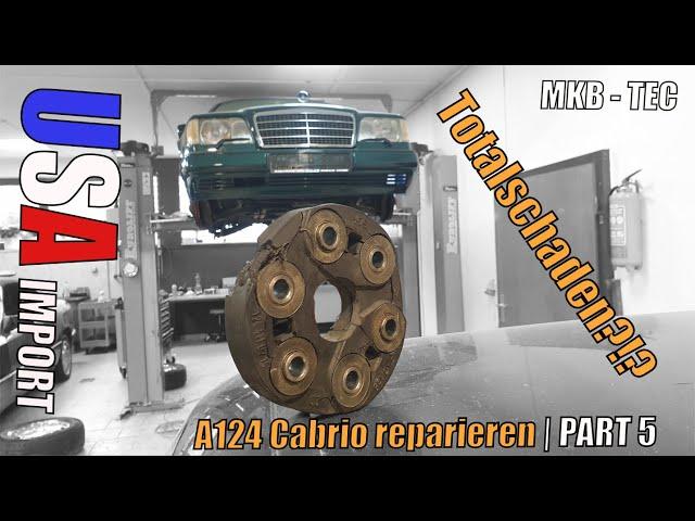 MKB TEC | Es geht weiter | Mercedes A124 Cabrio US IMPORT | Part 5