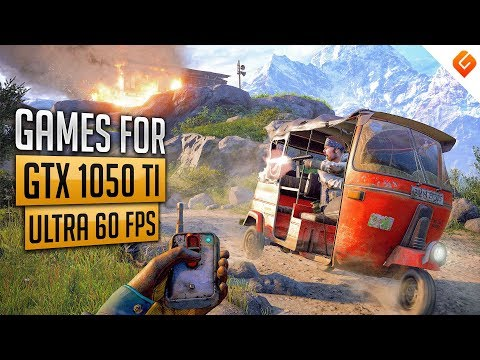 TOP 10 Games you can play at 60FPS ULTRA with GTX 1050Ti | With Benchmark