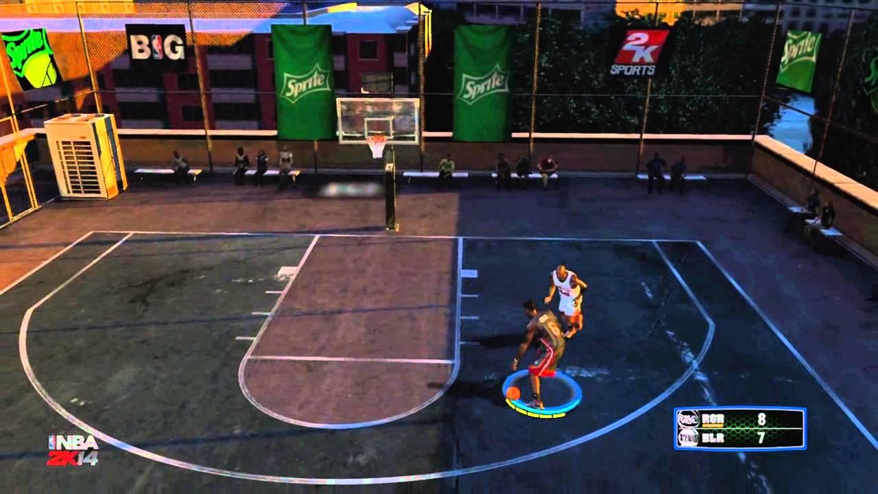 NBA 2K14: Blacktop Mode | LeBron James vs Michael Jordan - YouTube
