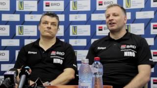 VIDEO - Conferinta dupa Romania-Serbia