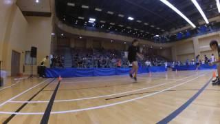 全港跳繩分齡賽2016 - 女子組-三十秒單人繩速度跳比賽