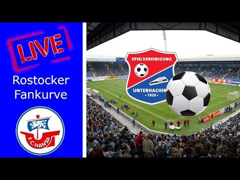 LIVE | Hansa 1:1 Unterhaching | Ganzes Spiel | Rostocker Fankurve