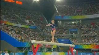 Shawn Johnson 2008 Olympics Balance Beam Event Finals