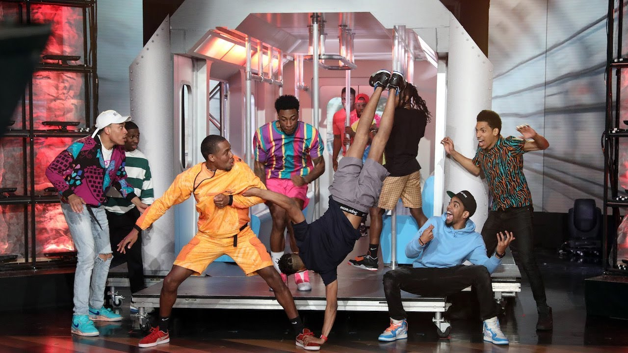 Meet The Ny Subway Waffle Dance Crew That Got Simon Cowell S Golden Buzzer On Agt