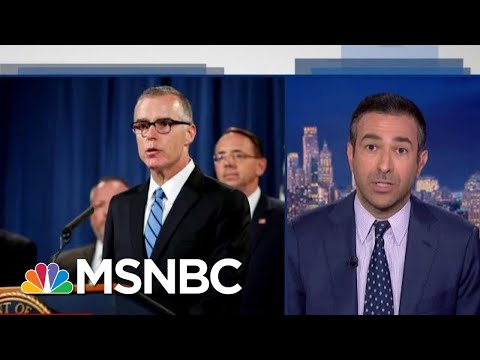 Trump DOJ May Indict FBI Official Who Ran Russia Probe | The Beat With Ari Melber | MSNBC